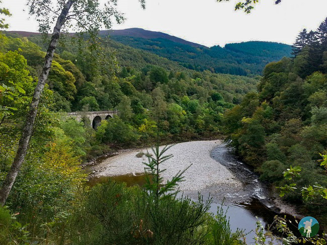 best of perthshire killiecrankie viaduct.