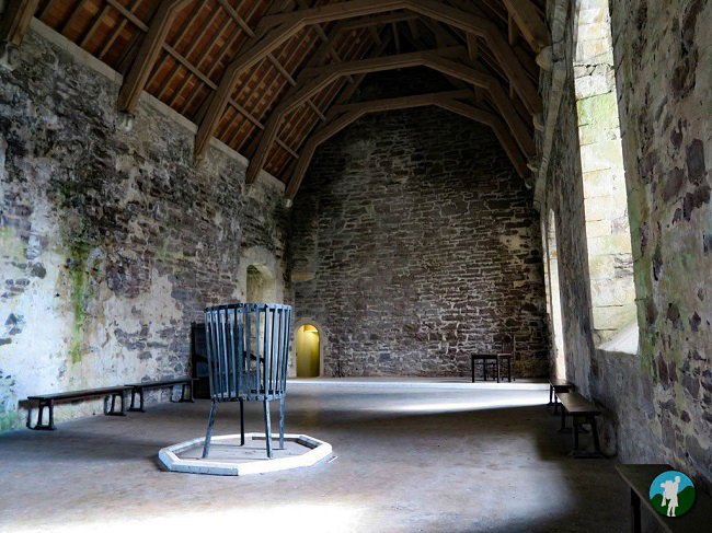 doune castle hall outlander