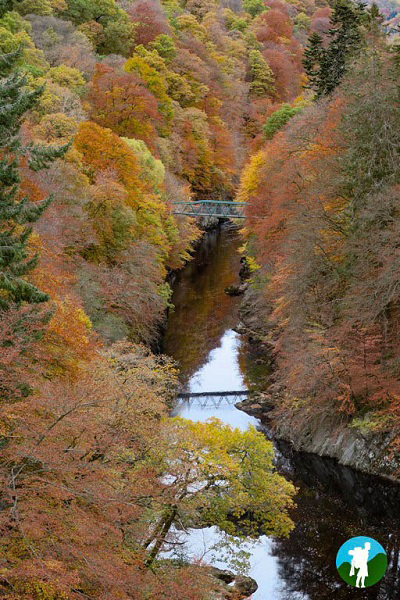 river garry big tree country perthshire