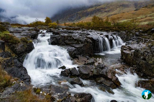 glen coe waterfalls photo blog