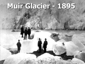 John Muir at Glacier Bay