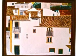 Village rooftops in Spain