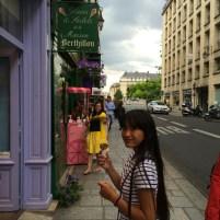 Berthillon ice-cream - Ile St. Louis, Paris, France