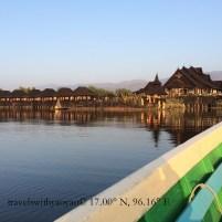 Hotel on Inle Lake in Myanmar (Burma)