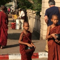 Young Monks on the Streets of Yangon