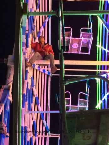 Man Powered Ferris Wheel in Bagan