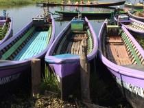 Long Boats on Inle Lake, Myanmar