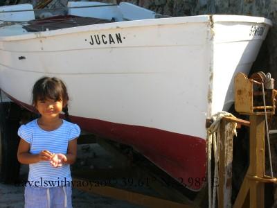 Boats and Yao Yao on Majorca