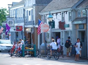 Bicycles Galore on Nantucket