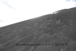 Volcano Surfing Cerro Negro, Nicaragua