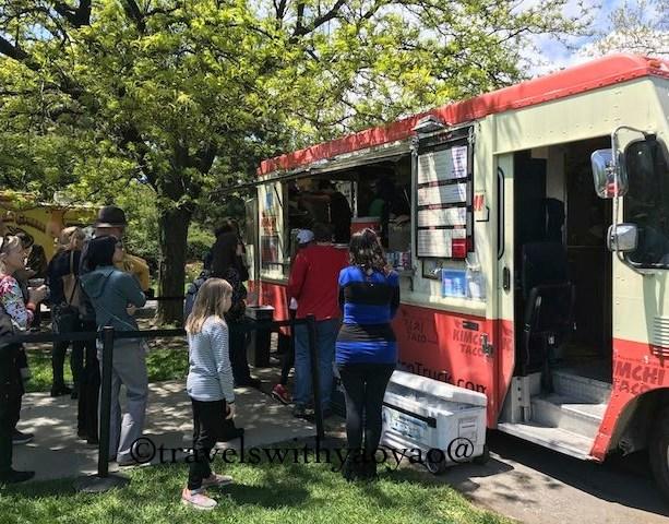 Food Truck at Botanical Garden