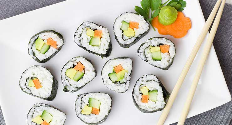 Top Food Destinations In The World Japan Sushi 740x400