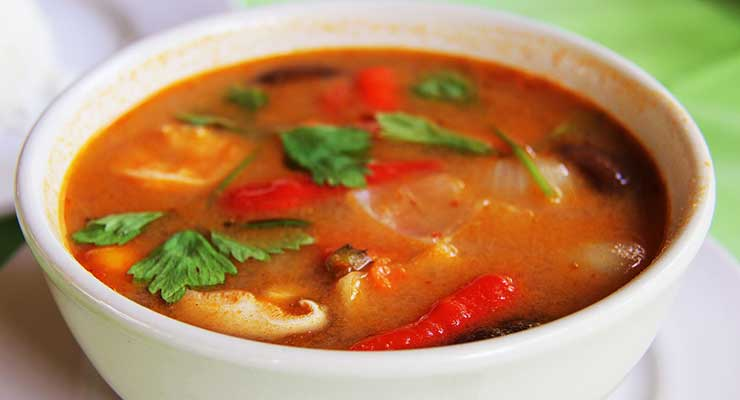 Top Food Destinations In The World Thailand Thai-Curry 740x400