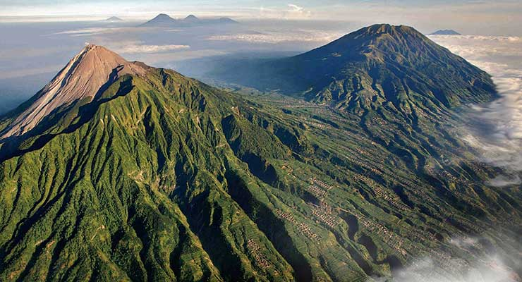 Top Countries For Best Outdoor Activities Indonesia Mount Merapi 740x400