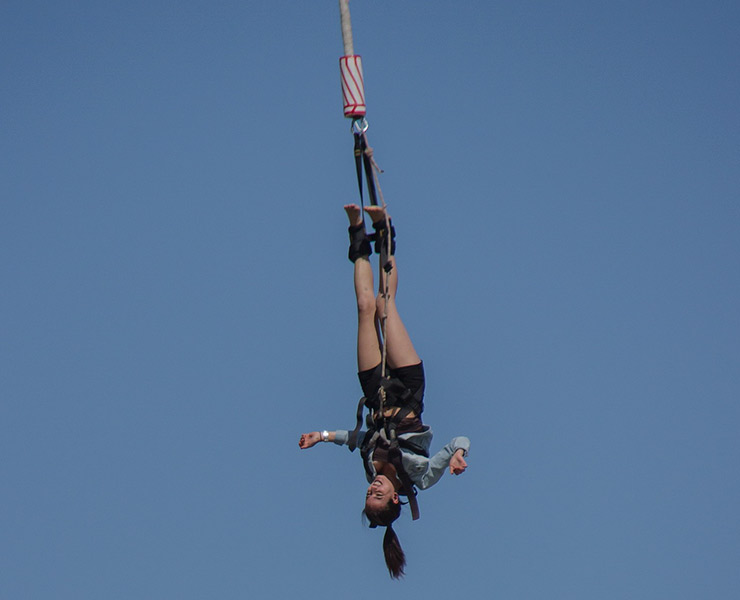 Places To Visit in Pokhara Nepal Bungee Jumping in Hemja