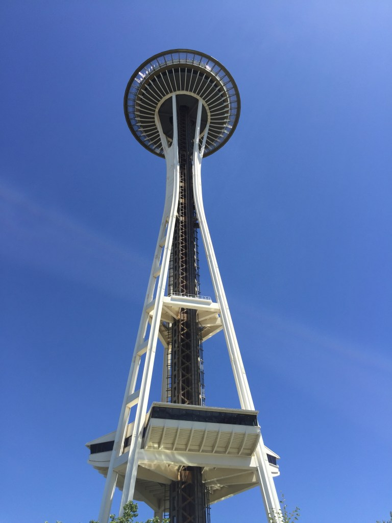 Seattle's iconic Space Needle was built for the 1962 World's Fair.