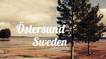 Ostersund in Sweden