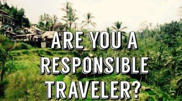 Verantwortungsbewusst Reisen