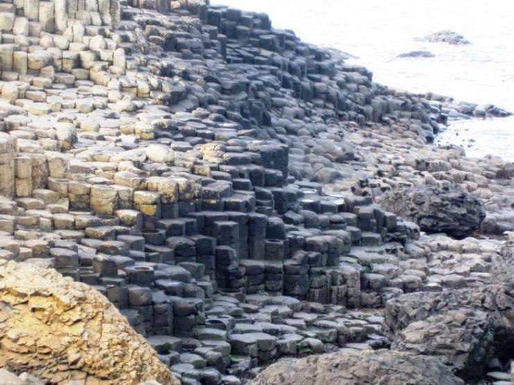 At Giant´s Causeway 2