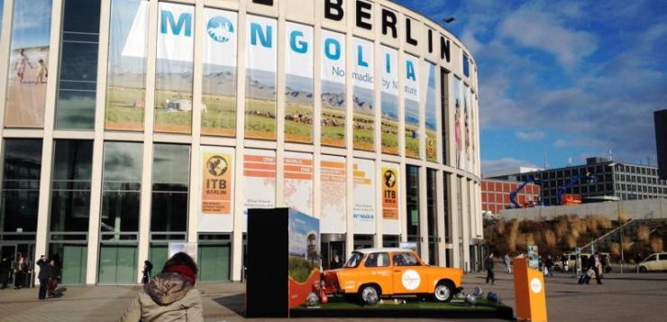 ITB Tourismus Messe in Berlin 2015