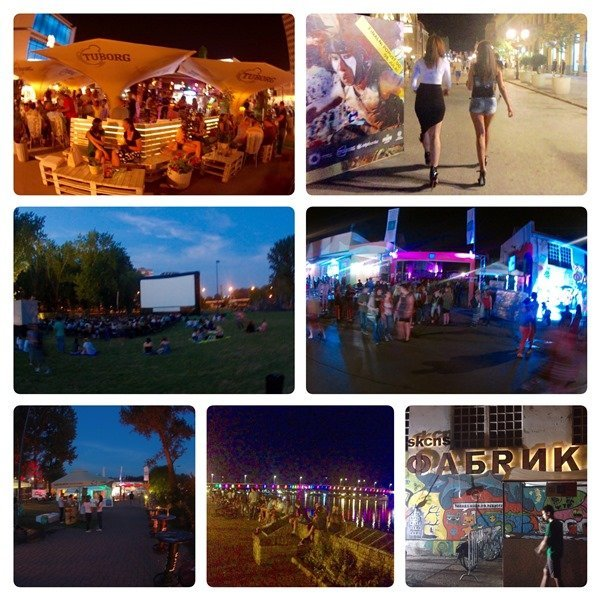 Donauradweg EuroVelo 6 Novi Sad Serbia Serbien (2)