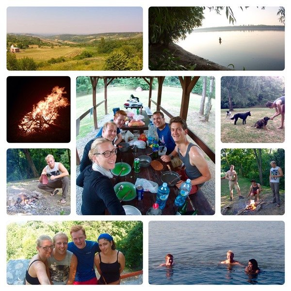 Donauradweg EuroVelo 6 Serbia Fruska Gora Eco Camping Novi Sad
