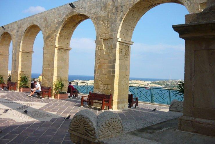 Upper Barraka Gardens in Malta