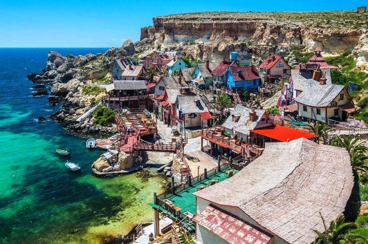 Popey Village Malta Mellieha