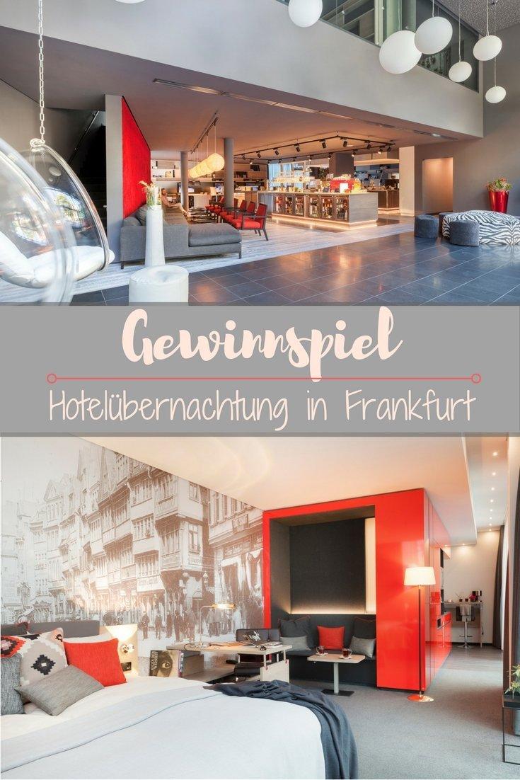 Gewinne zwei Nächte im Derag Livinghotel in Frankfurt