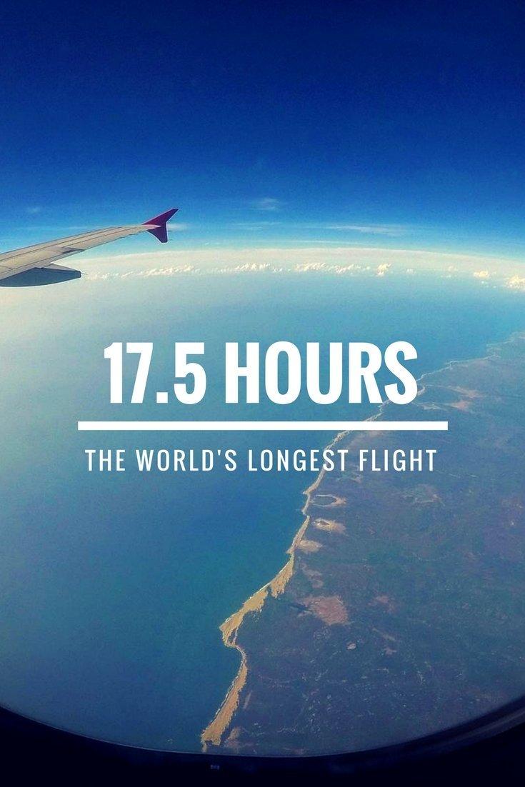 On The World's Longest Flight - Travelblog TravelTelling