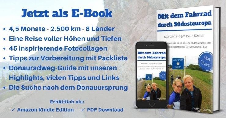 Slow Travel E-Book: Radreise entlang des DOnauradwegs