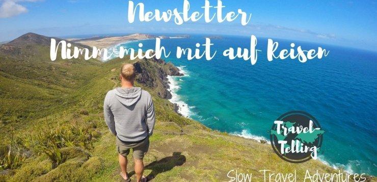 TravelTelling Reiseblog Newsletter