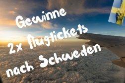Schweden Flugticket Gewinnspiel - Reiseblog TravelTelling