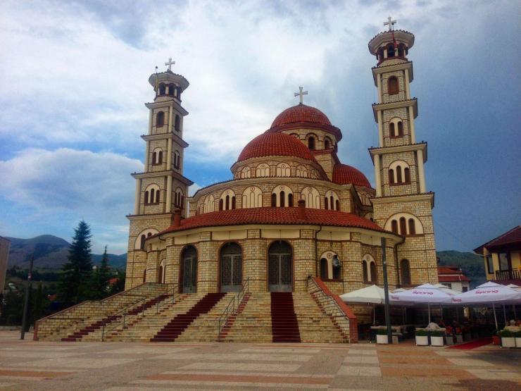 Korca in Albanien