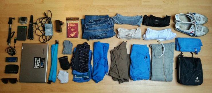 Reisen mit Handgepäck + Packliste