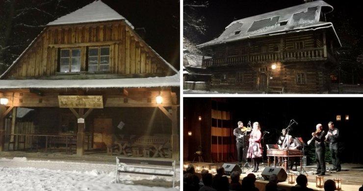 Roznov - Skanzen - WInterurlaub in Tschechien
