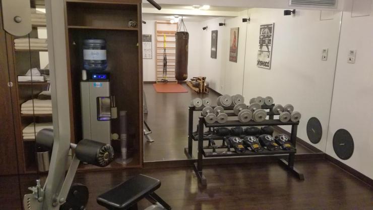 Derag Living Hotel am Viktualienmarkt München Bewertung Fitnessraum