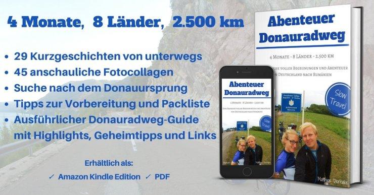 Abenteuer Donauradweg - Slow Travel Radreise