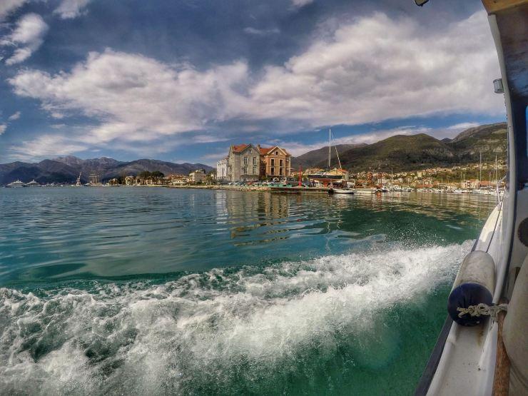 Bootstour bei Porto Montenegro und Bucht von Kotor