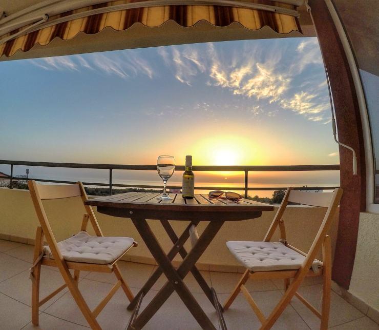Ferienwohnung in Montenegro mit Meerblick