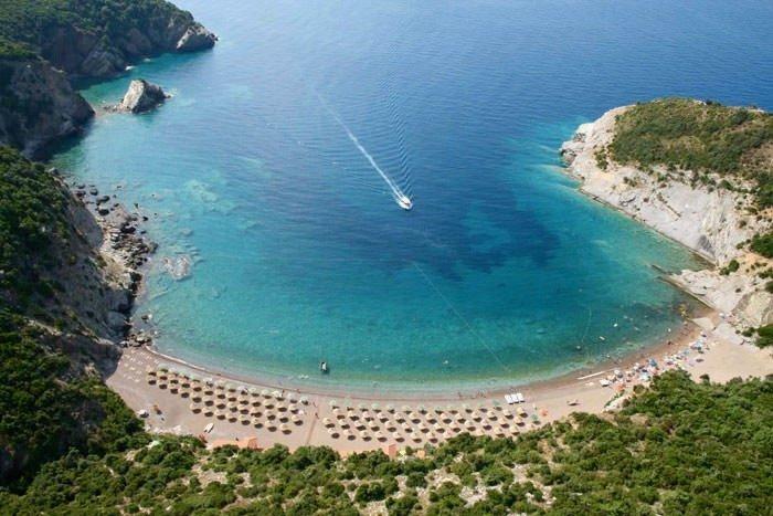 Strand der Königin in Montenegro