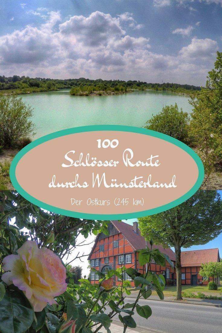 Die 100 Schlösser Route durchs Münsterland - Der Ostkurs (245 km)