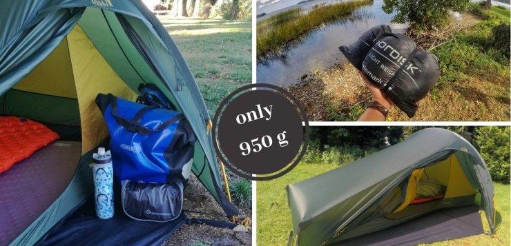 Getetstet: Ultraleichtes 2 Personen Zelt von Nordisk -Telemark 2 LW