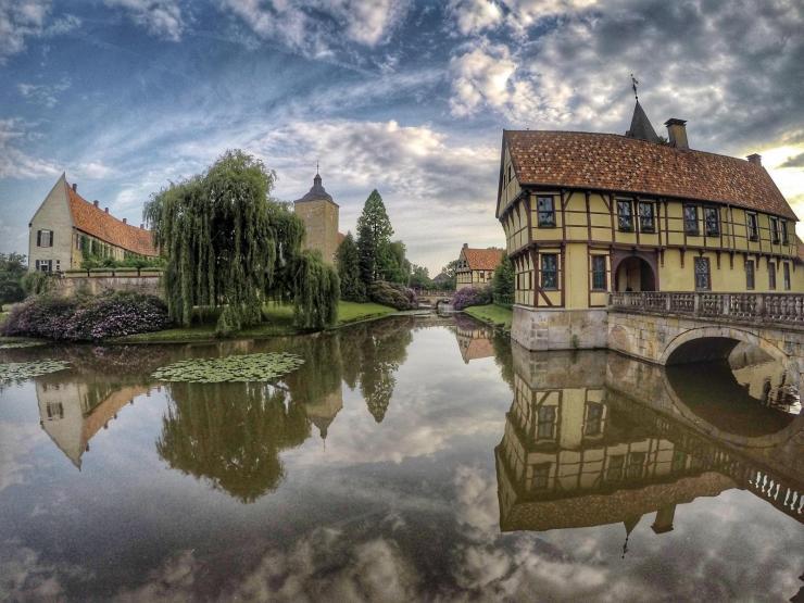 Wasserschloss Burgsteinfurt in Steinfurt
