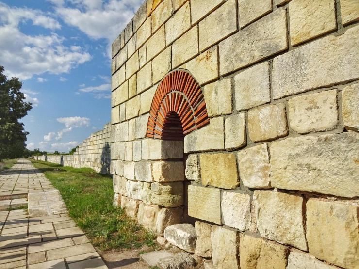 Pliska - Alte Hauptstadt Bulgariens