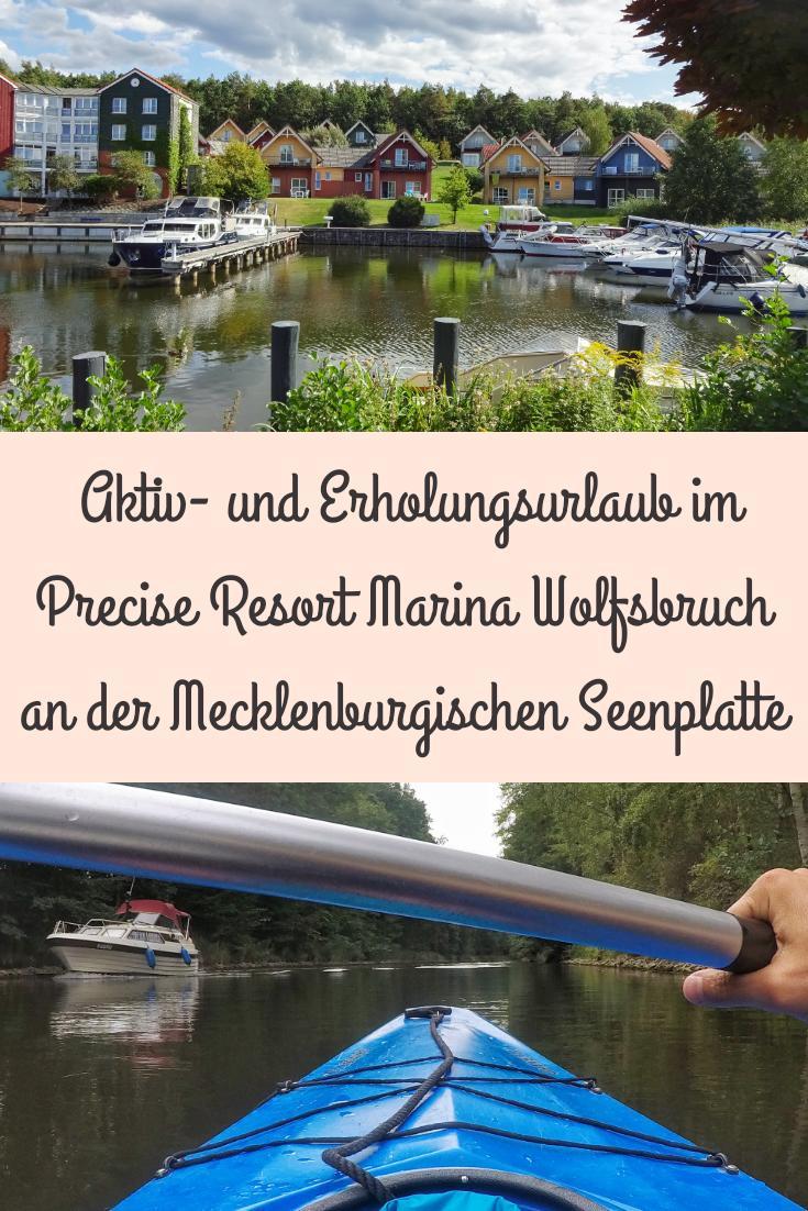Aktiv- und Erholungsurlaub im Precise Resort Marina Wolfsbruch an der Mecklenburgischen Seenplatte