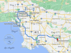 Los Angeles Trip Itinerary | Los Angeles Travel Guide