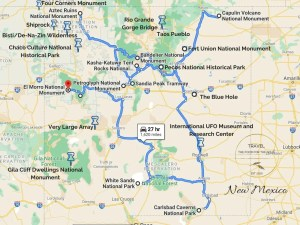 New Mexico Attractions Map | List Of Things To Do In New Mexico
