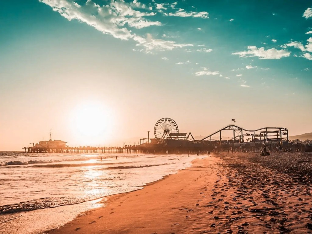 Santa Monica State Beach | Best Beaches in California