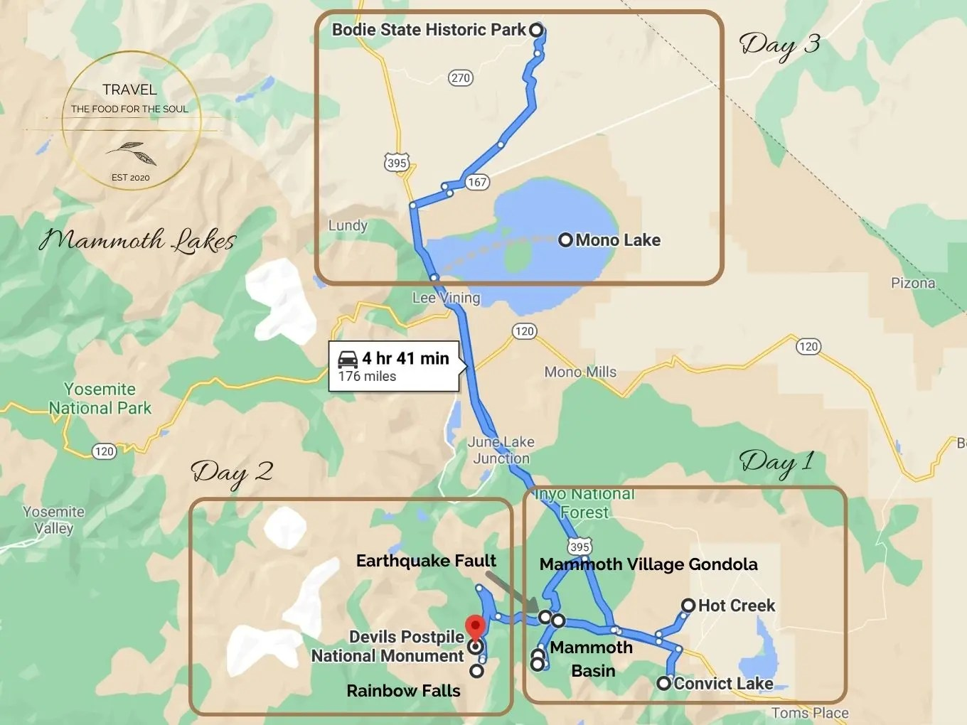 Mammoth Lakes Itinerary - Mammoth Lakes Travel Guide